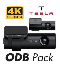 Pack Tesla Blackvue DR900S 2CH + PMP ODB