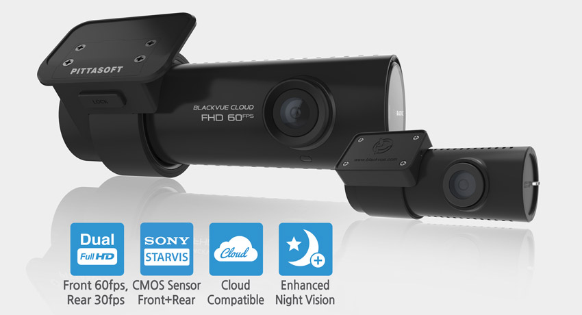 BlackView DR750S-2CH Dual Full HD Cloud Dash Cam